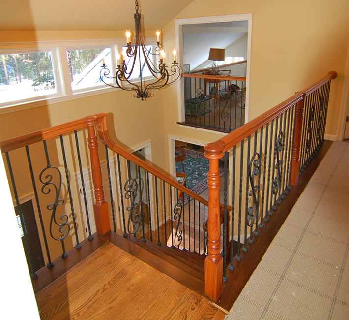 ... Iron Baluster Stair 2