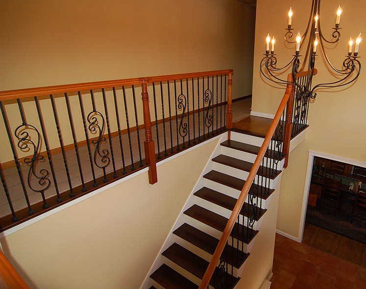 ... Iron Baluster Stair 3 ...